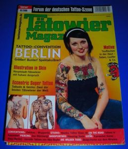 Tätowier-Magazin / Tätowiermagazin - Forum der deutschen Tattoo-Szene - Februar 02/2005 - Inhalt u.a. Tattoo-Convention Berlin, Illustration in Skin, Eccentric Super Tattoo, Conventions Zwickau Wuppertal, Bandporträt Bouncing Souls