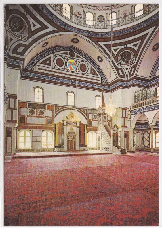 AK Acre - El Jazzar's Mosque Moschee Interior ungelaufen