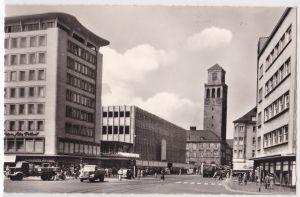 AK Mülheim-Ruhr Stadtmitte, umseitig Stempel: China-Town Leineweberstraße, ungelaufen