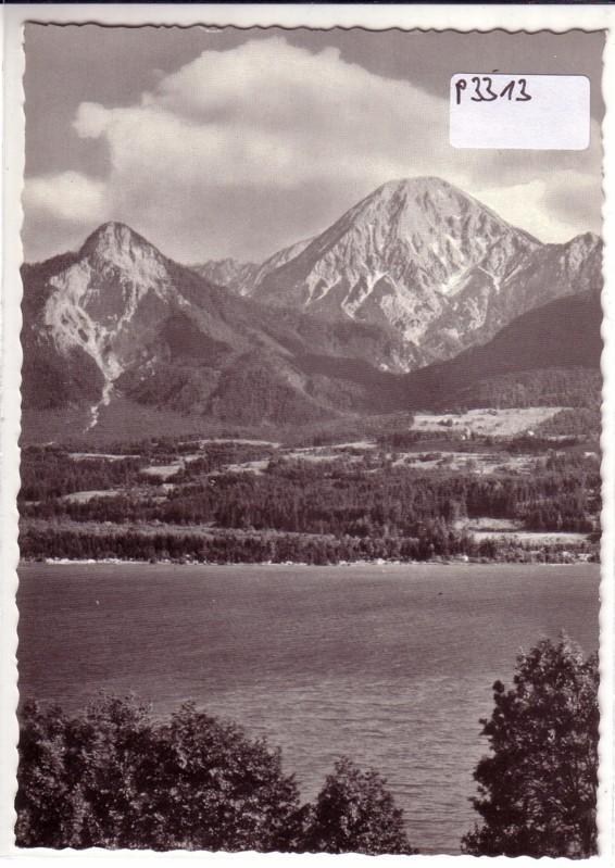 AK Österreich Faaker See ungelaufen