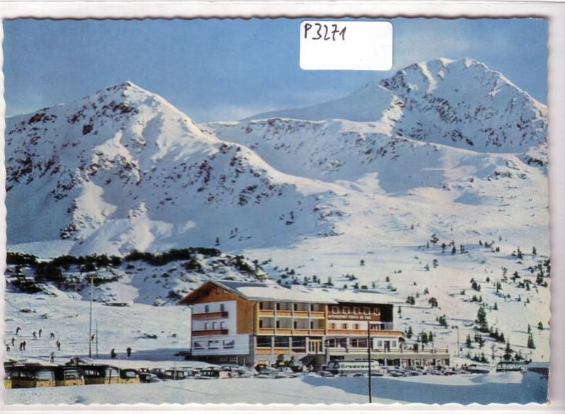 AK Österreich Hotel Perner Plattenspitz Gamskarspitze Radstädter Tauernpaß Salzburg ungelaufen