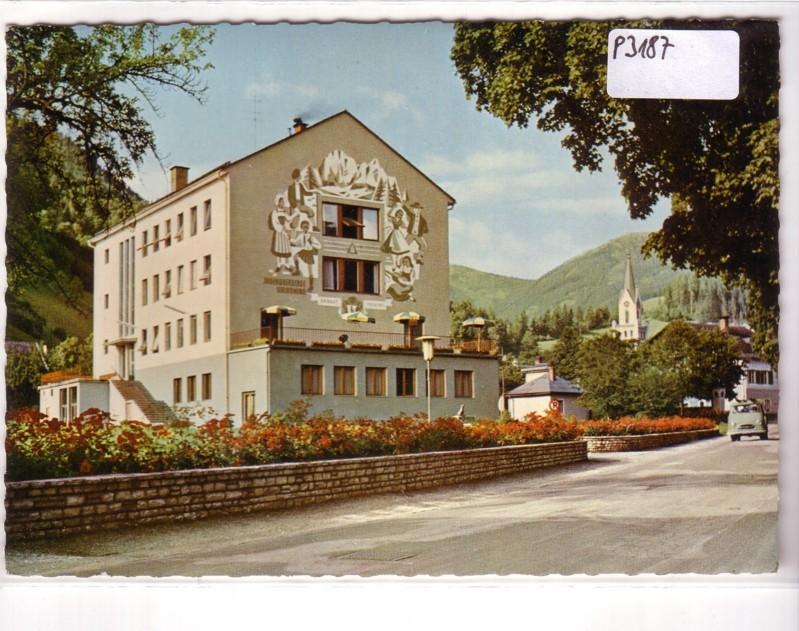 AK Österreich Schladming Jugendherberge Stadtsaal ungelaufen