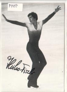 Autogrammkarte Heiko Fischer signiert