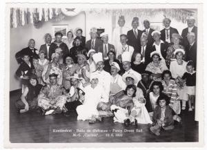 HAPAG Foto Kostümfest MS Caribia 1933 Baile de disfraces Fancy Dress Ball