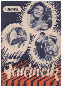 Progress Filmillustrierte Feuerwerk 43/55 Filmprogramm Lilli Palmer Schönböck, 1955. Reich bebildert und illustriert!