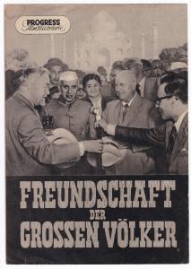 Progress Filmillustrierte Freundschaft der großen Völker 35/56 Filmprogramm, 1956. Reich bebildert und illustriert!