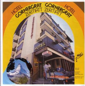 Werbeprospekt/Faltprospekt Hotel Gornergrat Zermatt - Wallis Schweiz - dreisprachig: de/eng/fra