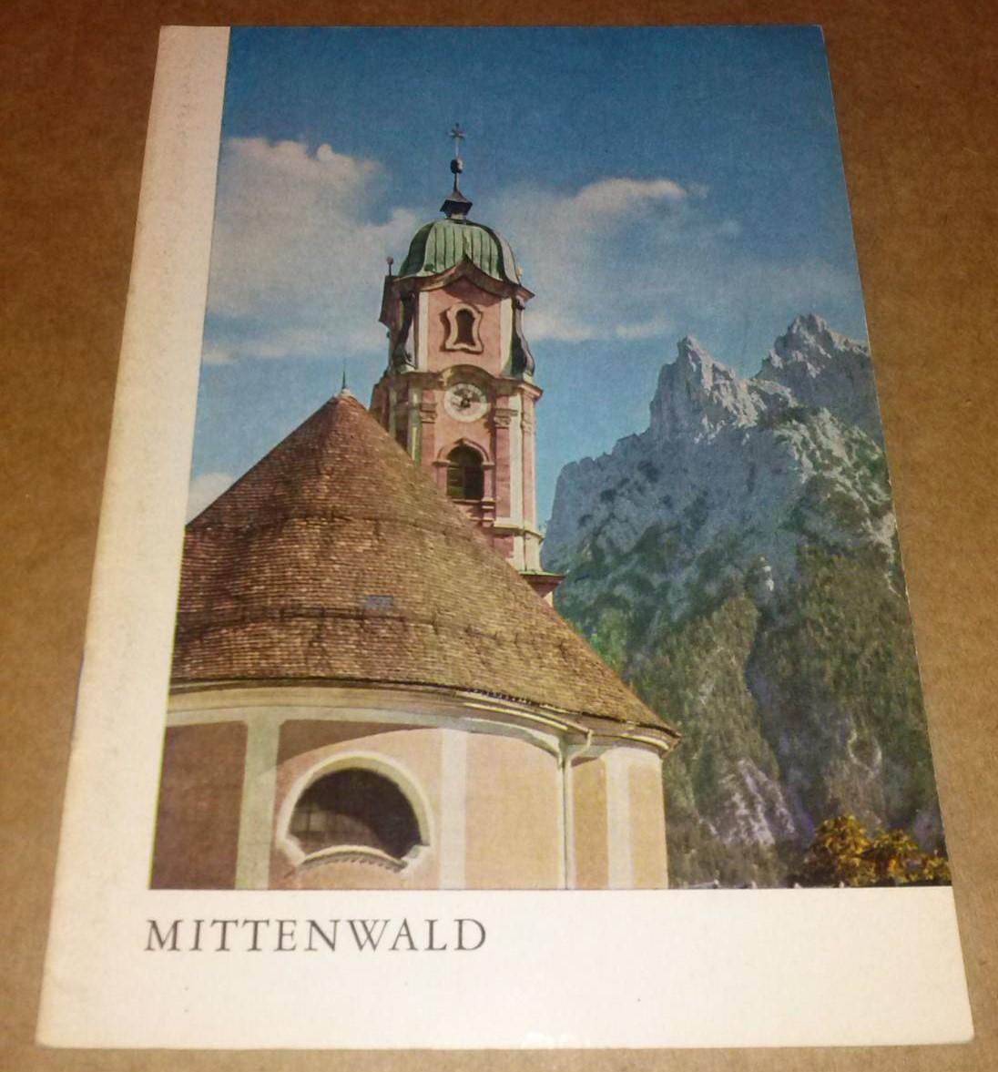 Mittenwald / Die St. Peter- und Paulskirche zu Mittenwald - 2. Auflage 1969 / herausgegeben im Auftrage des Katholischen Pfarramtes Mittenwald 0