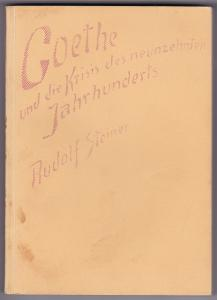 Kosmische und menschliche Geschichte. Band IV. Goethe und die Krisis des neunzehnten Jahrhunderts. Wirksame Kräfte der Gegenwart. Acht Vorträge gehalten vom 2. Oktober 1916 bis 30. Oktober 1916 in Dornach. Nach einer vom Vortragenden nicht durchgesehen...