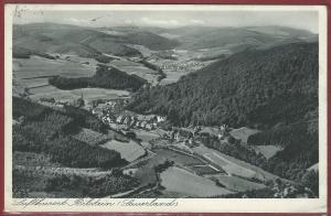 AK Bielstein Sauerland, Ortsansicht, 1936 gelaufen