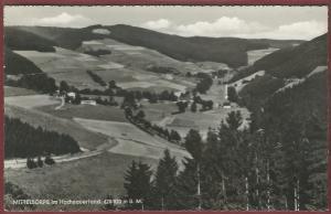AK Mittelsorpe im Hochsauerland, Ortsansicht, Pension Haus am Bach, Wilh. Simon-Hammer, Schmallenberg, 1967 gelaufen