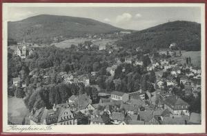 AK Königstein i. Taunus, Ortsansicht,1936 gelaufen