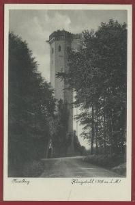 AK Heidelberg, Königstuhl, ungelaufen