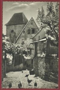 AK Bad Wimpfen a. Neckar, Alte Gasse im Burgviertel, ungelaufen