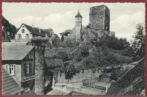 AK Bad Wimpfen Neckar, Am unteren Stadttor, Gasthof Traube, ungelaufen