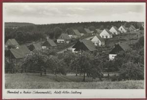 AK Oberndorf a. Neckar Schwarzwald, Adolf-Hitler-Siedlung, ungelaufen