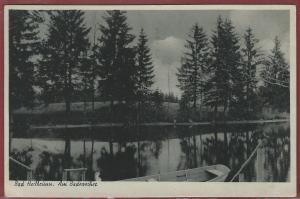AK Bad Heilbrunn, Am Badeweiher, 1944 gelaufen