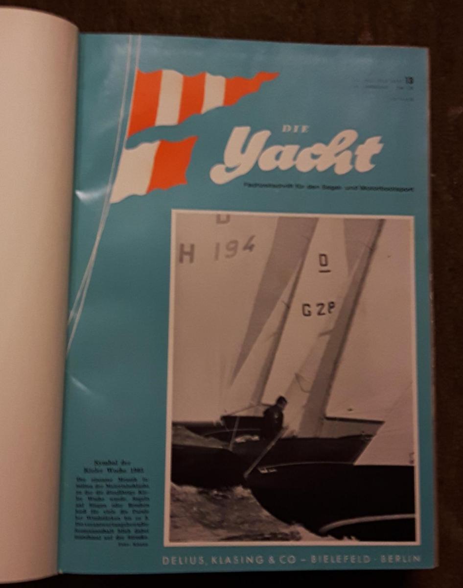 Die Yacht / Fachzeitschrift für den Segel- und Motorbootsport - enthält in gebundener Buchform folgende Fachzeitschriften: 62. Jahrgang 10. Juli 1965 Heft 13, Heft 14, Heft 15, Heft 16, Heft 17, Heft 18, Heft 19, Heft 20, Heft 21, Heft 22, Heft 23, Hef... 0