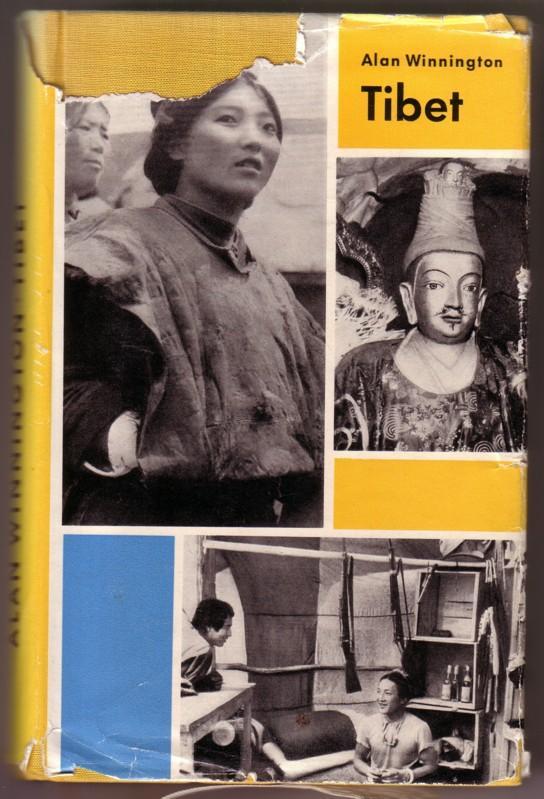 Tibet. Ein Reisebericht. Mit 20 Fotos des Autors - Schutzumschlagentwurf: Lothar Reher. / 1. Auflage 0