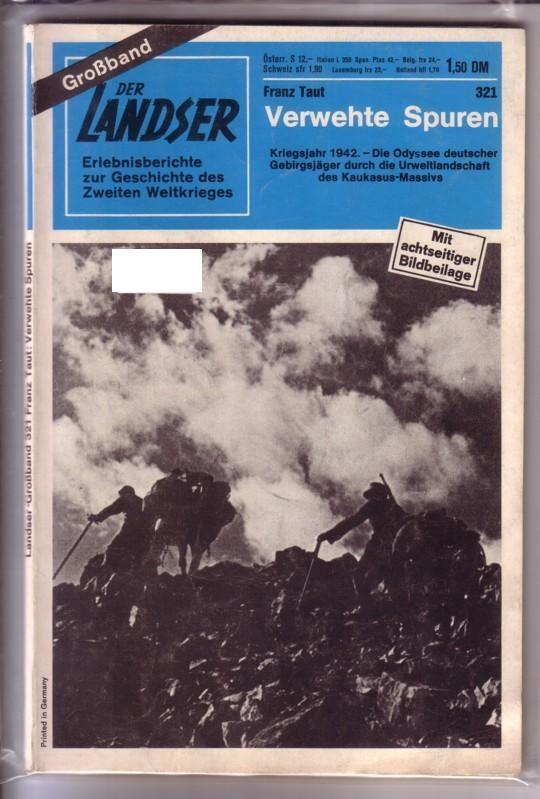 Der Landser Großband Grossband Nr. 321 - Verwehte Spuren 0