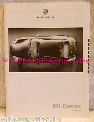 71: Porsche 911 Carrera - Auto Prospekt, Katalog, Broschüre, Automobilia, Heft
