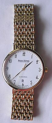 Herren Armbanduhr Glashütte Bruno Söhnle Uhrenatelier mit Metallarmband (111278) 0