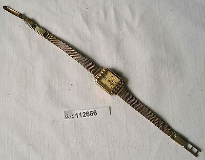 Schöne Ruhla Damen Armbanduhr mit Metallarmband (112666)