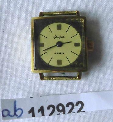 Alte mechanische Glashütte Damen Armbanduhr um 1960 (112922)
