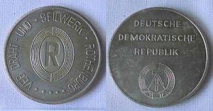 DDR Medaille VEB Draht- und Seilwerk Rothenburg um 1980 (112791) 0