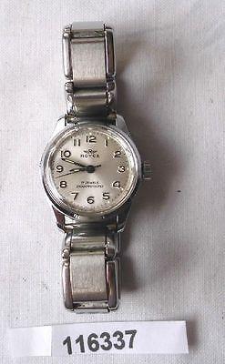 Alte Vintage Herren Armbanduhr Marke Royce mit Metallarmband  (116337)