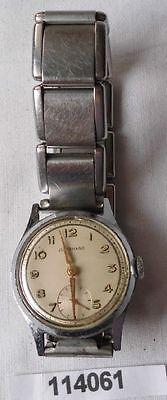 Alte Vintage Herren Armbanduhr Marke Junghans mit Metallarmband (114061)
