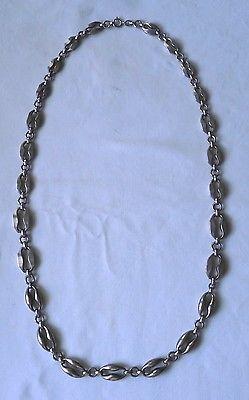Aparte alte Kette Silber 835 große Kettenglieder (112826)