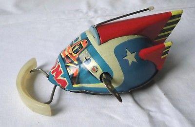 DDR Blechspielzeug Mondfahrzeug Luna mit Schlüsselaufzug (117578)