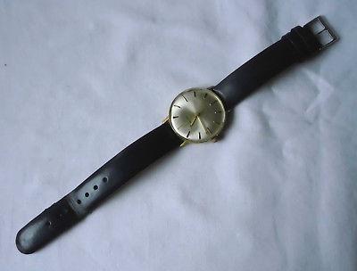Alte Herren Armbanduhr Vintage Marke Kienzle mit Lederarmband (118457)