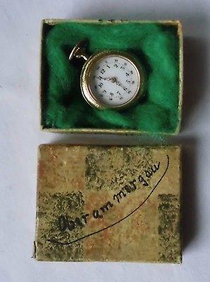 Kleine Damen Taschenuhr 585er Gold um 1920 (117680)