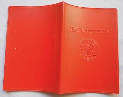 DDR Ausweis Qualitätsnachweis Gurkenanbau IGA Erfurt 1965 (101094)