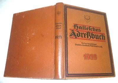 Hallesches Adressbuch 1933