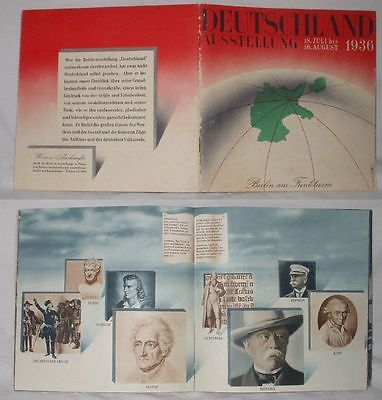 Deutschland Ausstellung 18. Juli bis 16. August 1936 (Nr.17843)