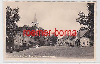 78328 Ak Neumittelwalde Międzybórz in Schlesien Unterring um 1935