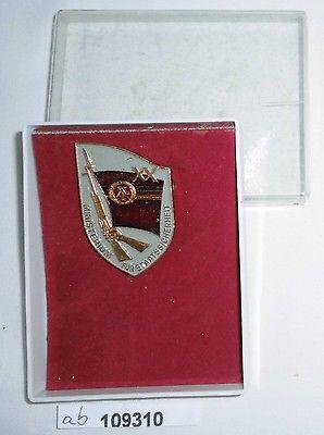 DDR Erinnerungsabzeichen XX Jahre MfS im Originaletui (109310)
