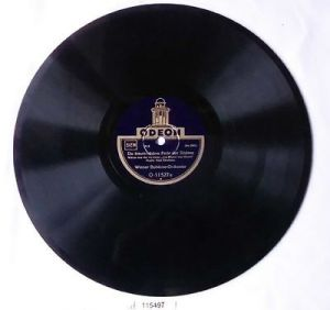 115497 Schellackplatte Odeon