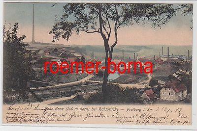 77506 Ak Hohe Esse (140m hoch) bei Halsbrücke Freiberg in Sachsen 1902
