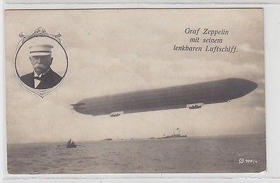 67775 foto ak graf zeppelin mit seinem lenkbaren luftschiff 1908 nr 332422345950 oldthing. Black Bedroom Furniture Sets. Home Design Ideas