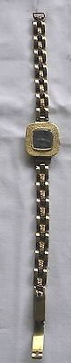 Schöne goldene Damen Armbanduhr 585er Gold 14 K mit Armband aus 333er Gold
