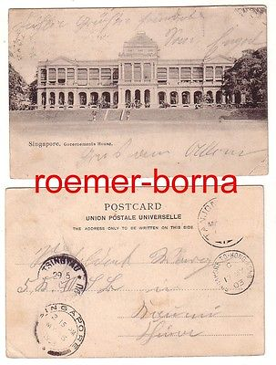 11556 Ak Singapore Singapur Governements House 1903