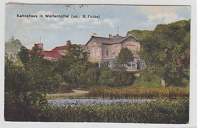 69155 Ak Kaffeehaus in Wolfenbüttel (Inh.R.Fricke) 1923