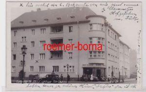 88070 Foto Ak Leipzig Gohliser Straße Obst & Gemüse Kluge um 1940