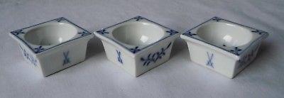 Meissen Porzellan Zwiebelmuster seltene Salznäpfe Soßennäpfe 1. Wahl (118069)