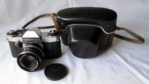 Praktica PL nova I 35mm Spiegelreflexkamera mit Meyer Objektiv  (1174)