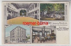 72667 Mehrbild Ak Leipzig-Reudnitz Ball- u.Gesellschaftshaus Drei Lilien um 1910
